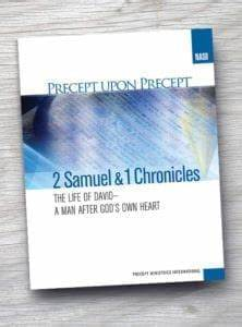 2 Samuel / 1 Chronicles - The Life of David - A Man After God's Own Heart